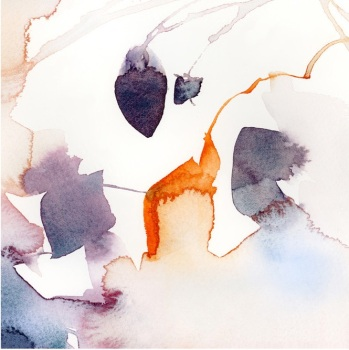 Watercolor Abstract Flora